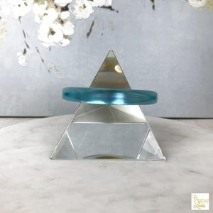 Totally Stunning Alexis Bittar Aqua Lucite Bangle